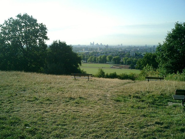 London from Parliament Hill,(hampsteadheath.org.uk)